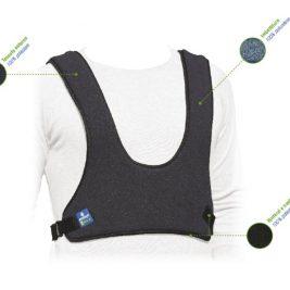 La cintura è particolarmente confortevole grazie al tessuto imbottito col quale è stata realizzata.