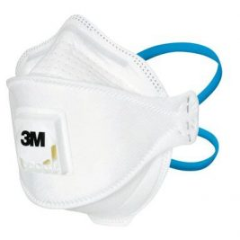 Protezione FFP2 (NPF 12) contro agenti contaminanti pericolosi in ambienti ospedalieri Il design a 3 lembi consente maggiori movimenti facciali, con una migliore adattabilità e regolazione La tecnologia con filtro a bassa resistenza ti aiuta a respirare più facilmente